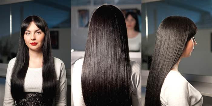 прямые и ухоженные волосы фото 1