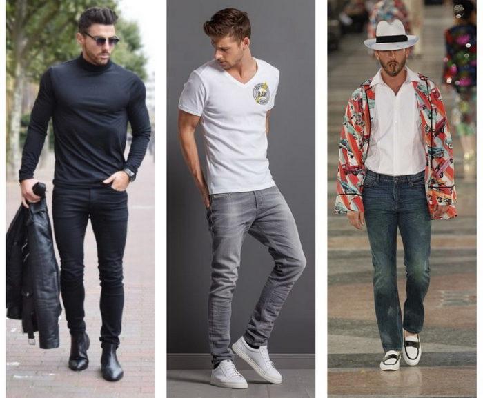 модные мужские джинсы весна-лето 2018