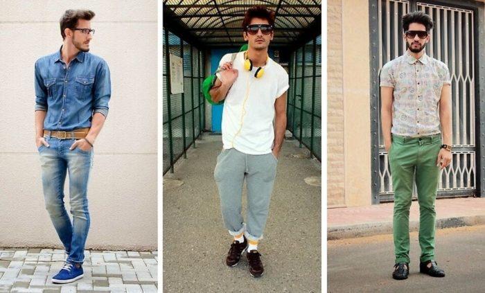 модные мужские джинсы весна-лето 2018, фото новинки 1