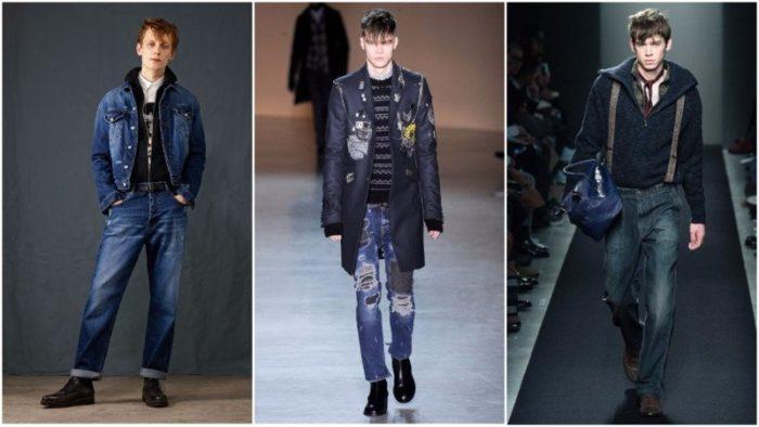 модные мужские джинсы весна-лето 2018, фото новинки 2