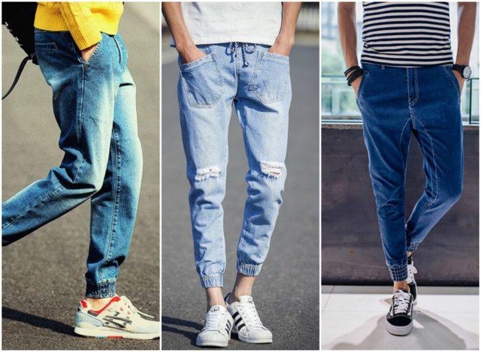 модные мужские джинсы весна-лето 2018, фото новинки 3