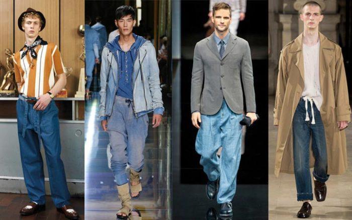 модные мужские джинсы весна-лето 2018, фото новинки 4