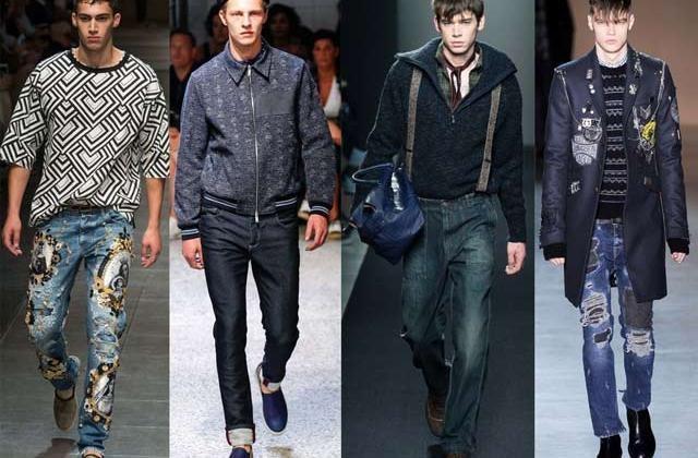 модные мужские джинсы весна-лето 2018, фото новинки 5