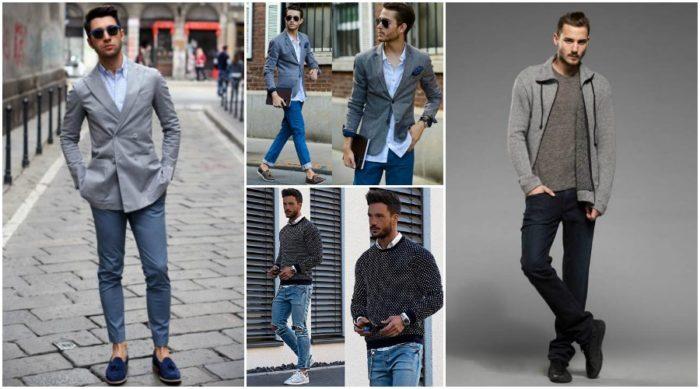 джинсы-дудочки с подворотами