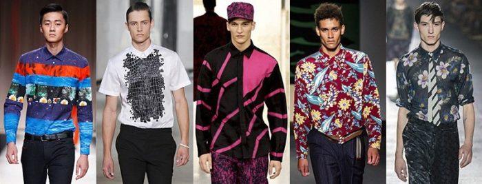 модные мужские рубашки весна-лето 2018, фото новинки 1