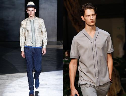 модные мужские рубашки весна-лето 2018, фото новинки 3