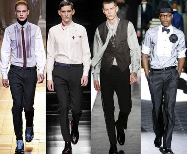 модные мужские рубашки весна-лето 2018, фото новинки 5