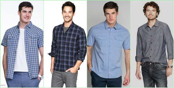 модные мужские рубашки весна-лето 2018, фото новинки 8
