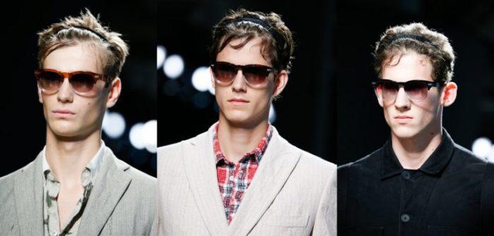 мужские солнцезащитные очки весна-лето 2018, модные тенденции и тренды на фото 2