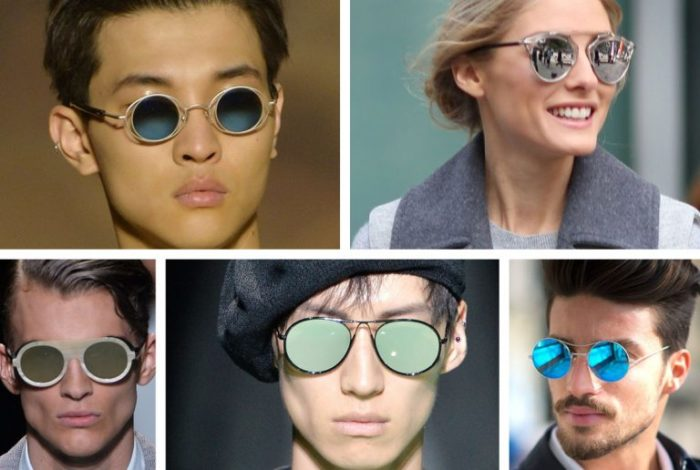 цветные и зеркальные очки фото 3