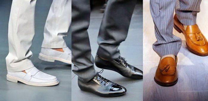 модные мужские туфли и ботинки весна-лето 2018