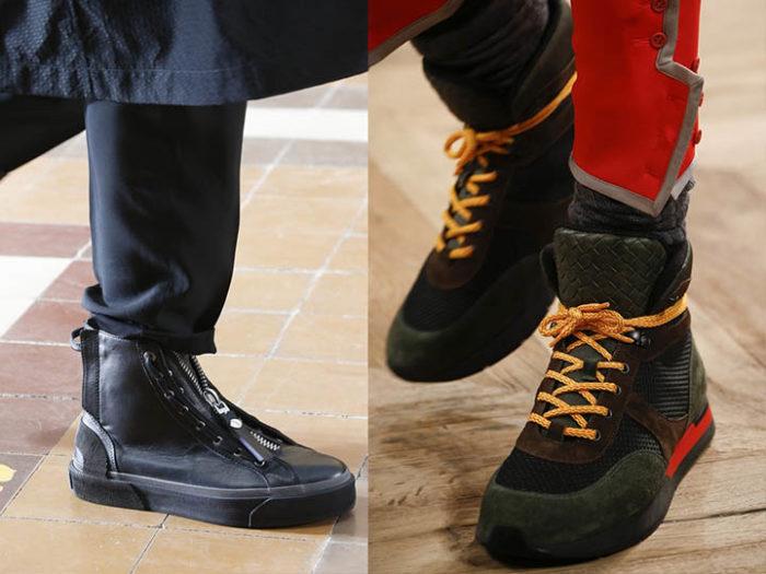 ботинки с завышенной голенью фото 1