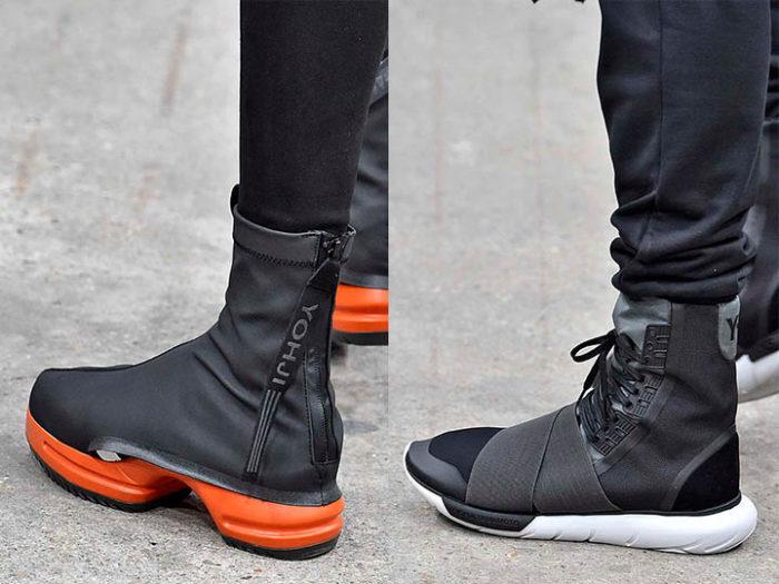ботинки с завышенной голенью фото 2