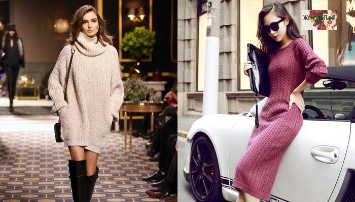 модные свитера, джемперы и кофты весна 2018