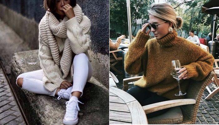 свитера, джемперы и кофты весна 2018, модные тенденции фото 2