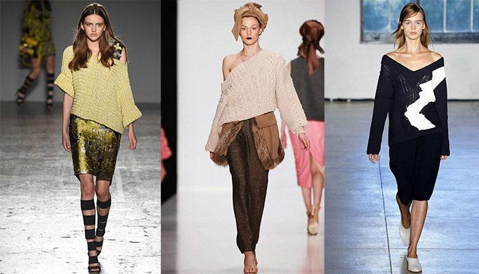 свитера, джемперы и кофты весна 2018, модные тенденции фото 3