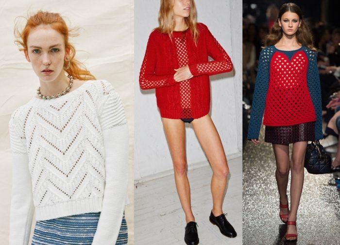 модные свитера, джемперы и кофты весна 2018, фото 3