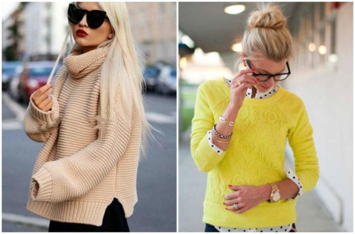 модные свитера, джемперы и кофты весна 2018, фото 4