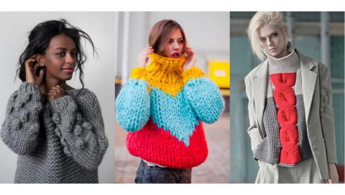 модные свитера, джемперы и кофты весна 2018, фото 7