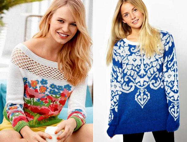 модные свитера, джемперы и кофты весна 2018, фото 8