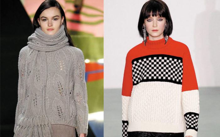 модные свитера, джемперы и кофты весна 2018, фото 9