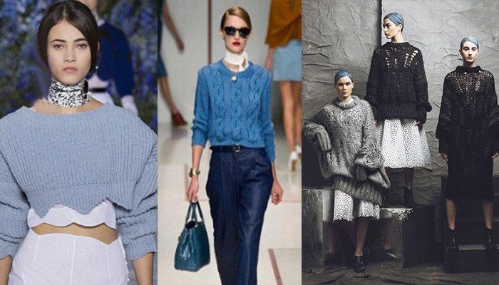 свитера, джемперы и кофты весна 2018, модные тенденции фото 4