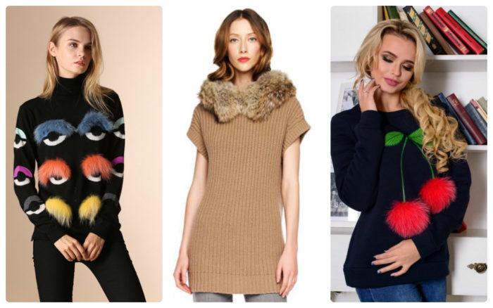 модные свитера, джемперы и кофты весна 2018, фото 10