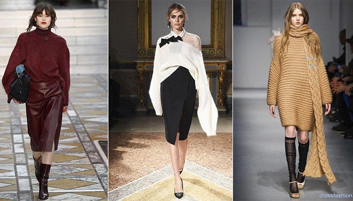 свитера, джемперы и кофты весна 2018, модные тенденции фото 5