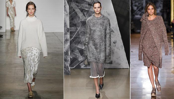 свитера, джемперы и кофты весна 2018, модные тенденции фото 6
