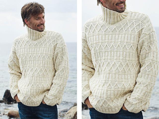 мужские свитера с узорами весна 2018 фото 2