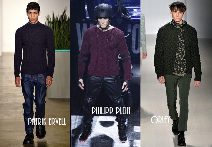 мужские свитера весна 2018, модные тенденции и тренды на фото 5