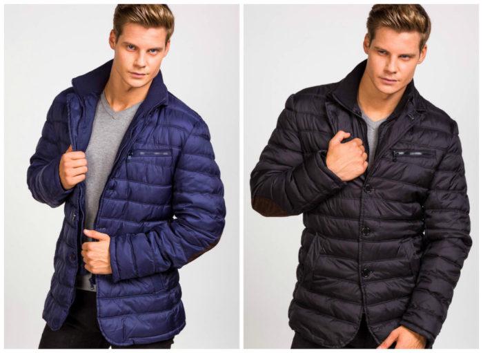 модные мужские стёганные куртки весна 2018, фото новинки 3