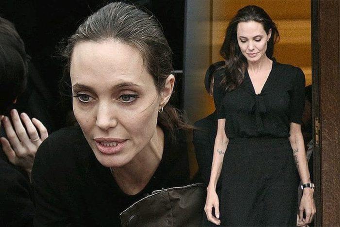 почему похудела Анджелина Джоли 2018 фото 3