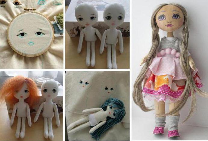 мастер-класс, как сшить куклу своими руками с красивым лицом фото 4