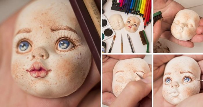 мастер-класс, как сшить куклу своими руками с красивым лицом фото 5
