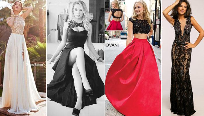 модные платья на выпускной 2018: фасоны, тренды, фото