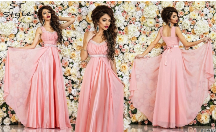 розовыеплатья на выпускной фото 3