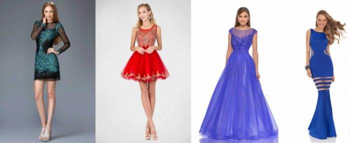 фасоны выпускных платьев 2018 фото 4