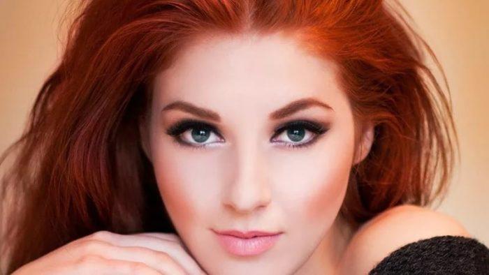 рыжий (огненный) цвет волос