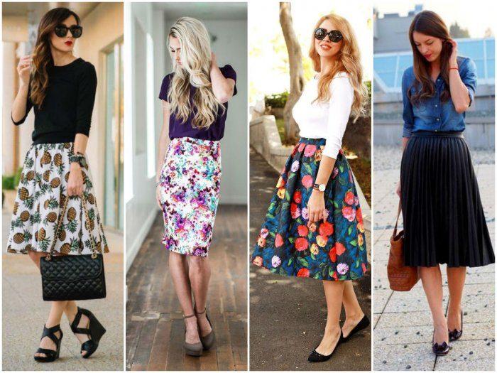 летние юбки 2018 фото, модные тенденции и тренды фото 4