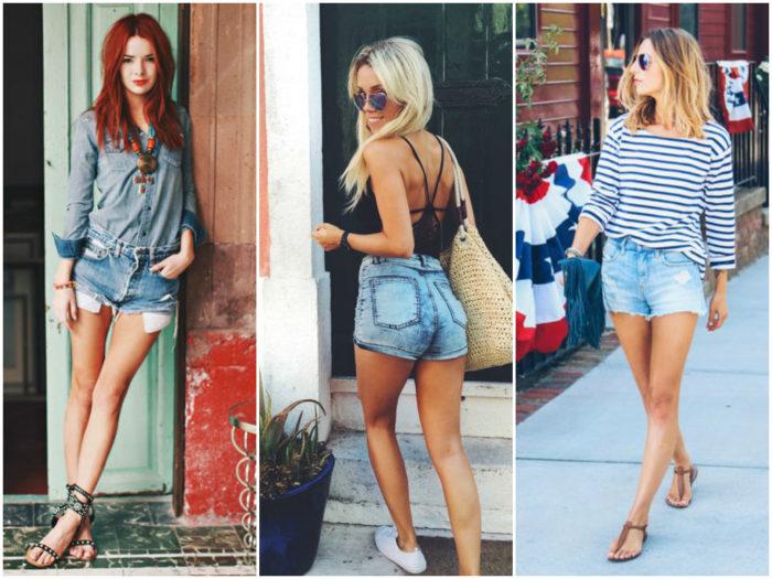 модные джинсовые шорты - летнее решение на каждый день фото 2