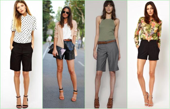 модные летние шорты в классическом стиле фото 1