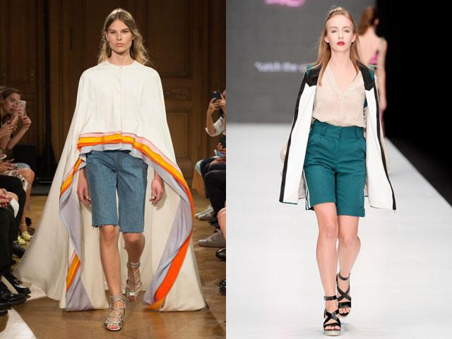 модные летние шорты в классическом стиле фото 3