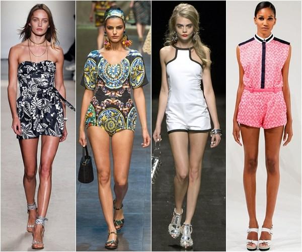 модные летние шорты-комбинезоны 2018 фото 1