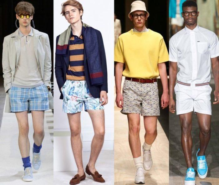 модные мужские летние шорты 2018