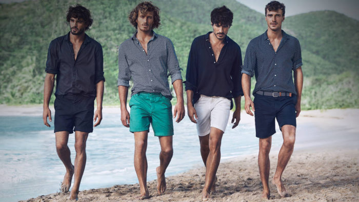 модные мужские шорты 2018, с чем носить. Летняя фото-подборка 4