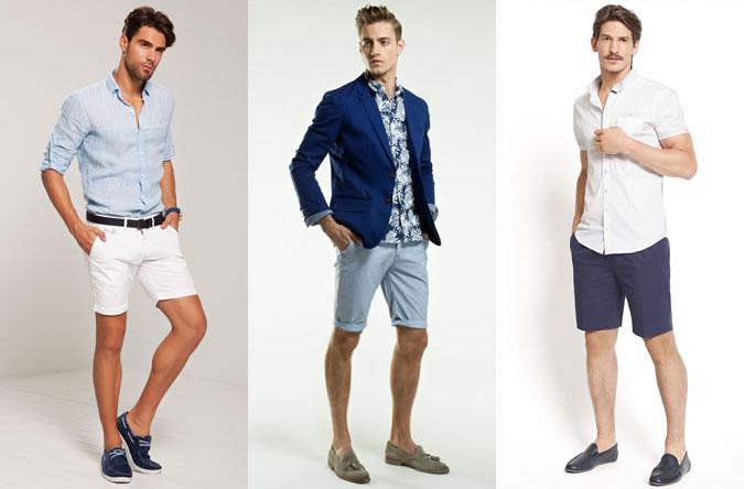 модные мужские шорты 2018, с чем носить. Летняя фото-подборка 3