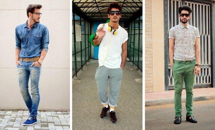 469abcb901b Мужские рубашки весна-лето 2018  модные тенденции и тренды на фото