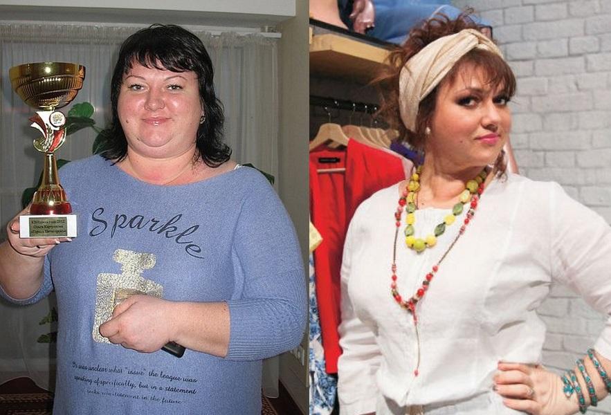 Коркунова похудела фото до и после